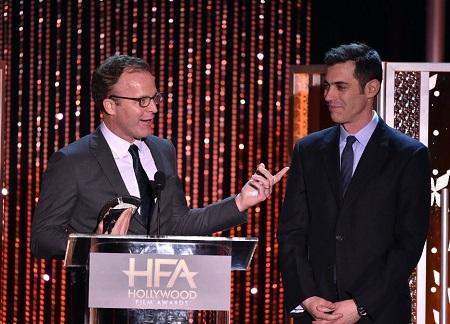 Tom McCarthy, Josh Singer - Spotlight (2015) PHOTO: Kevin Winter - © 2015 Getty Images